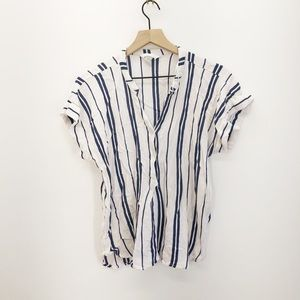 H&M Striped Top Size 12